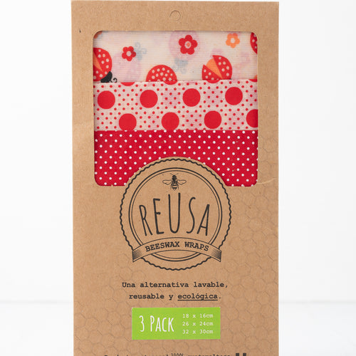 Beeswax Wraps - 3 pack
