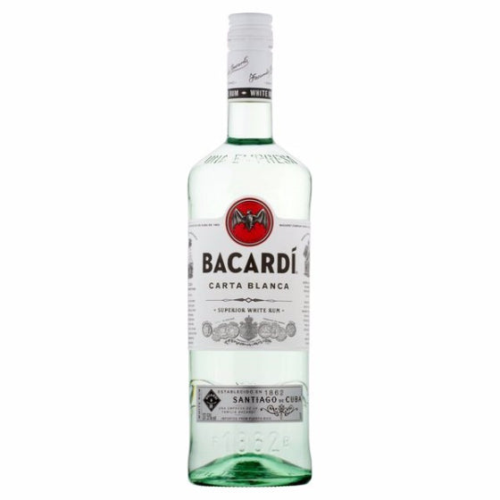 Ron Bacardí Carta Blanca 980 ml-Vinexa
