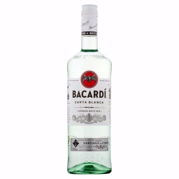 Ron Bacardí Carta Blanca 750 ml-Vinexa
