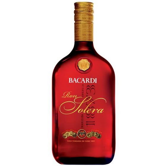Ron Bacardí Solera 750 ml-Vinexa