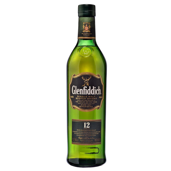 Whisky Glenfiddich 12 años 750 ml-Vinexa