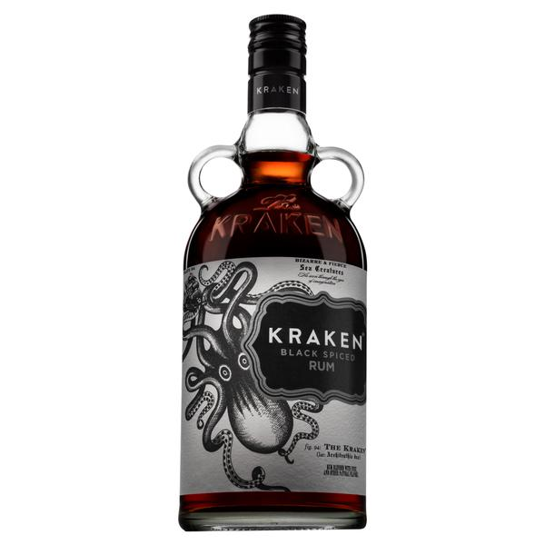 Ron Kraken Black Spiced 750 ml-Vinexa