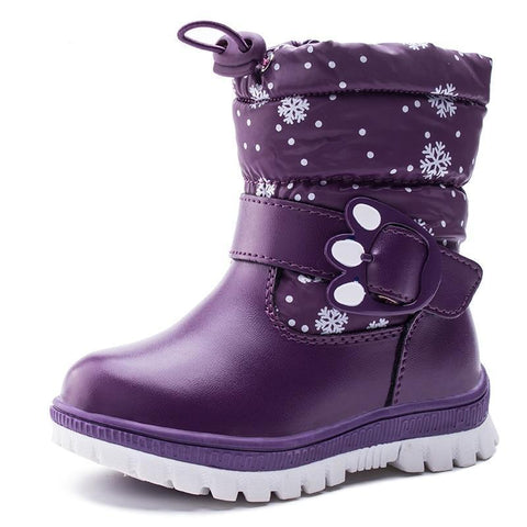 Ankle Snow Boots-Girls-KidsDoFashion