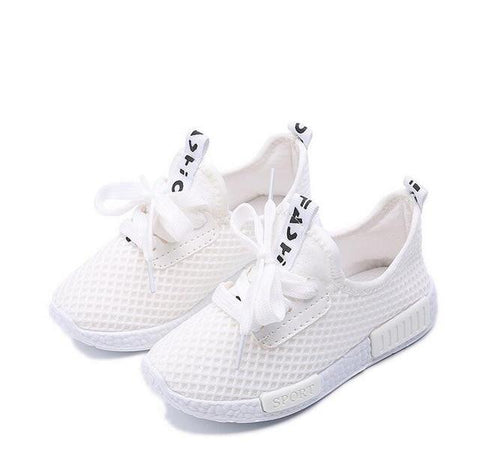 Awesome Mesh Sneakers-Girls-KidsDoFashion
