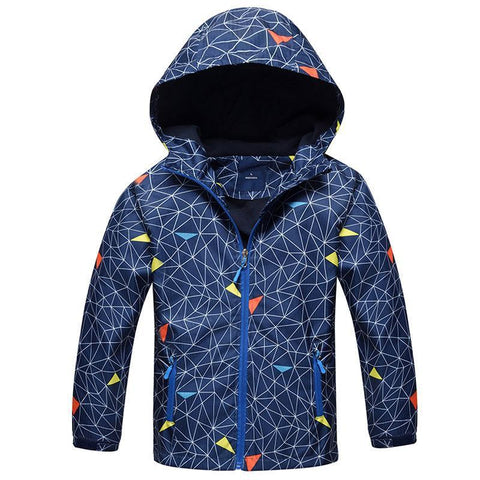 Awesome Waterproof and Windproof Jacket-Boys-KidsDoFashion
