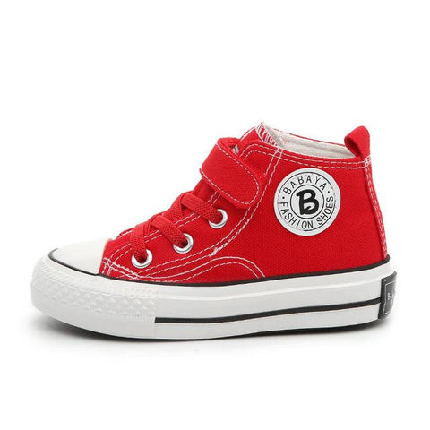 Canvas Sneakers-Girls-KidsDoFashion