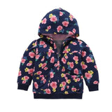 Floral Cute Coat-Baby Girls-KidsDoFashion