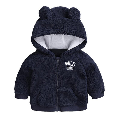 Little Bear Jacket-Baby Girls-KidsDoFashion