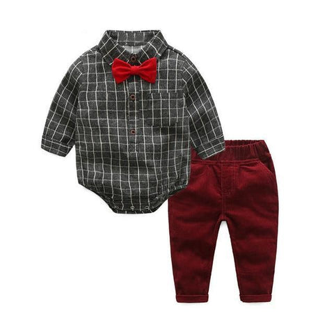Little Gentelman Clothing Set-Baby Boys-KidsDoFashion
