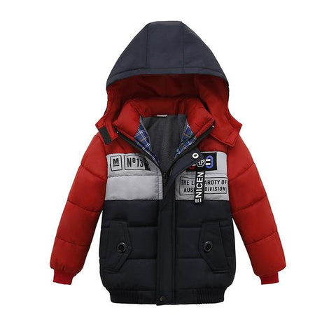 Little Star Winter Jacket-Boys-KidsDoFashion