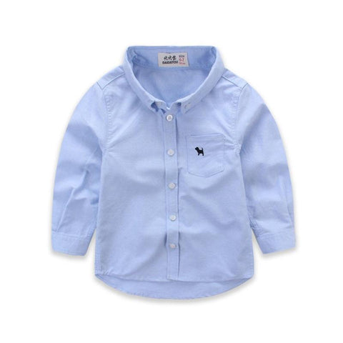 Long Sleeve Party Shirt-Boys-KidsDoFashion