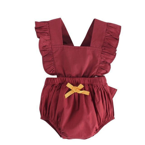 Sweet Little JumpSuit-Baby Girls-KidsDoFashion