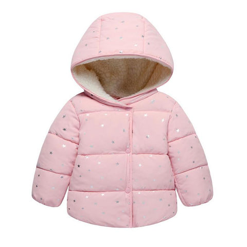Warm Winter Jacket-Baby Girls-KidsDoFashion