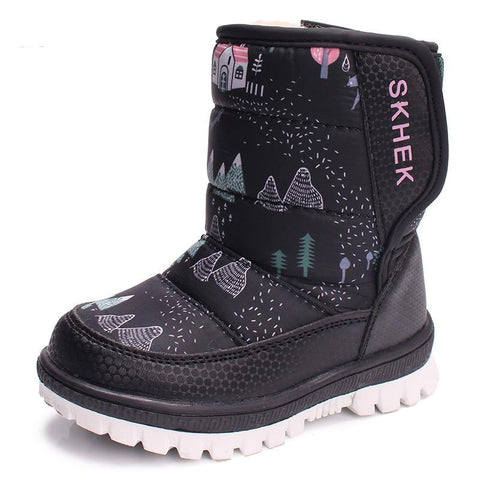 Waterproof Warm Boots-Girls-KidsDoFashion