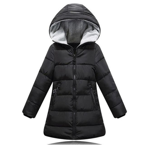 Winter jacket-Girls-KidsDoFashion