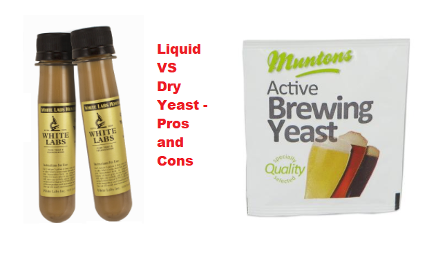 Liquid VS Dry Yeast