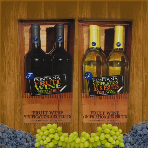Fontana Wine Kit - Fruit - Wildberry Burst