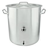 Tri-Clad Induction Ready 10 Gallon Stainless Steel Welded Kettle