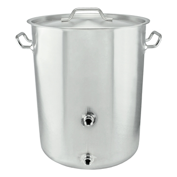 Tri-Clad Induction Ready 15 Gallon Stainless Steel Welded Brew Kettle