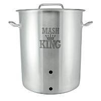 15 Gallon Mash King Weldless Brew Kettle