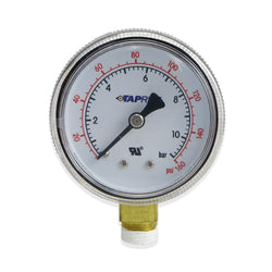 Low Pressure Gauge (160PSI RHT) #5605