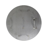 "Stainless Steel False Bottom w/ Legs - 15 1/2"" - Top View"