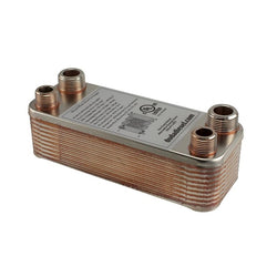 "B3-12A-20ST 20 Plate Wort Chiller - 1/2"" Male NPT x 3/4"" Male NPT 7.5"" - Canadian Homebrewing Supplier - Free Shipping - Canuck Homebrew Supply"