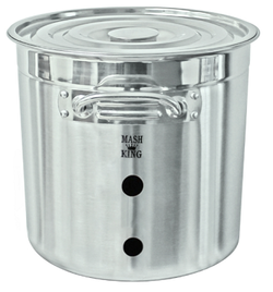 Stainless Steel Weldless Brew Kettle - 21L