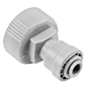 "Duotight Food Grade Plastic (Push-In) Fitting - 3/4"" Female NPT X 1/4"" (6.35mm)"