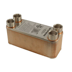 "30 Plate Wort Chiller - 3/4"" Female NPT - 7.5in - Canadian Homebrewing Supplier - Free Shipping - Canuck Homebrew Supply"