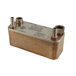 "30 Plate Garden Hose Wort Chiller - 1/2"" Barb - 7.5in - Canadian Homebrewing Supplier - Free Shipping - Canuck Homebrew Supply"
