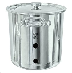 304 Stainless Steel Weldless Brew Kettle - 21L
