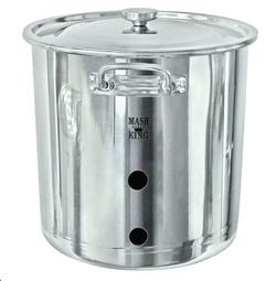 304 Stainless Steel Weldless Brew Kettle - 33L