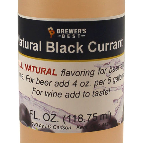 Black Currant Flavouring Extract - 4oz