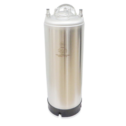 5 Gallon Stainless Steel AEB Ball Lock Keg - New