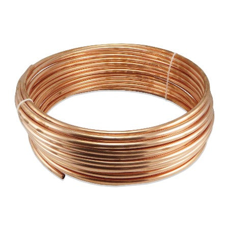 Copper Coil - 50' of 3/8""
