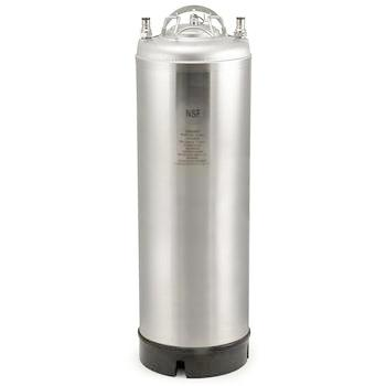 5 Gallon Stainless Steel AMCYL Ball Lock Keg - New