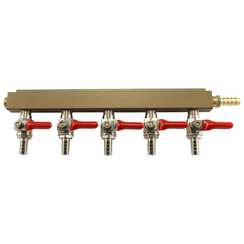5 Way Gas Distributor (Manifold)