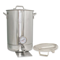 Six Piece Brew Kettle Kit - 8 Gallons