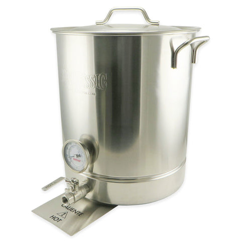 10 Gallon 6 Piece Stainless Steel Brew Kettle Set