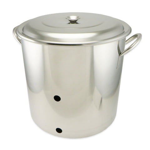 8 Gallon Stainless Steel Weldless Brew Pot