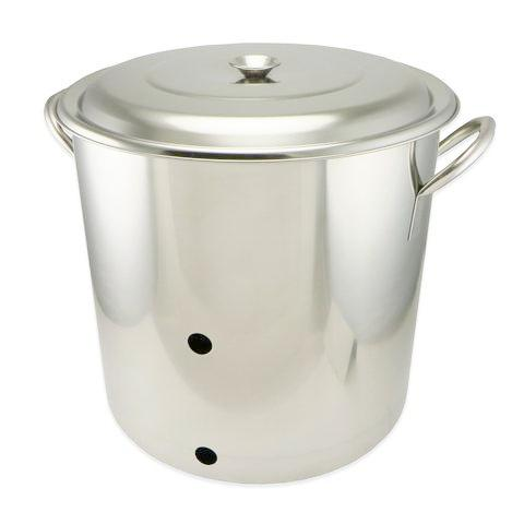 Stainless Steel Weldless Brew Kettle - 5 Gallon