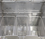 9 Gallon - Stainless Steel Deep Fryer - Triple Baskets