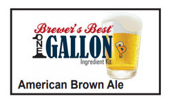American Brown Ale 1 Gallon Beer Kit