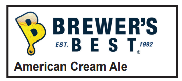 5 Gallon American Cream Ale Homebrew Kit