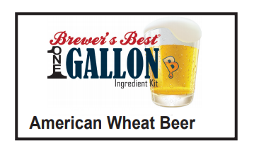 American Wheat 1 Gallon Beer Kit