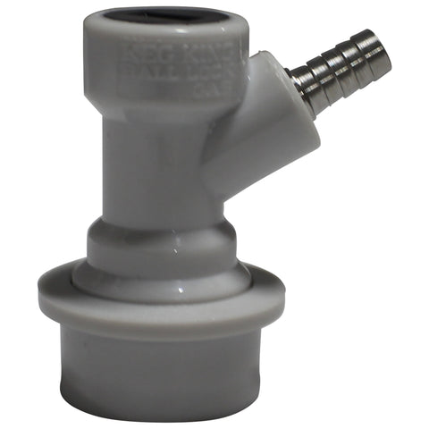 "1/4"" Barb Ball Lock Gas Disconnect"