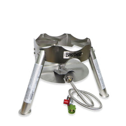 SS30 Stainless Steel Brew Burner - Canadian Homebrewing Supplier - Free Shipping - Canuck Homebrew Supply