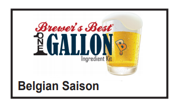 Belgian Saison 1 Gallon Beer Kit