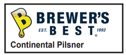 5 Gallon Continental Pilsner Homebrew Kit